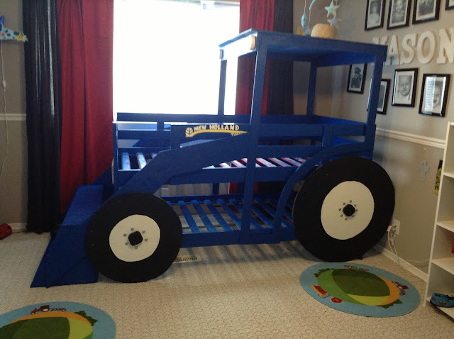 New Holland Tractor Bedding : Tractor bed ikea hackers