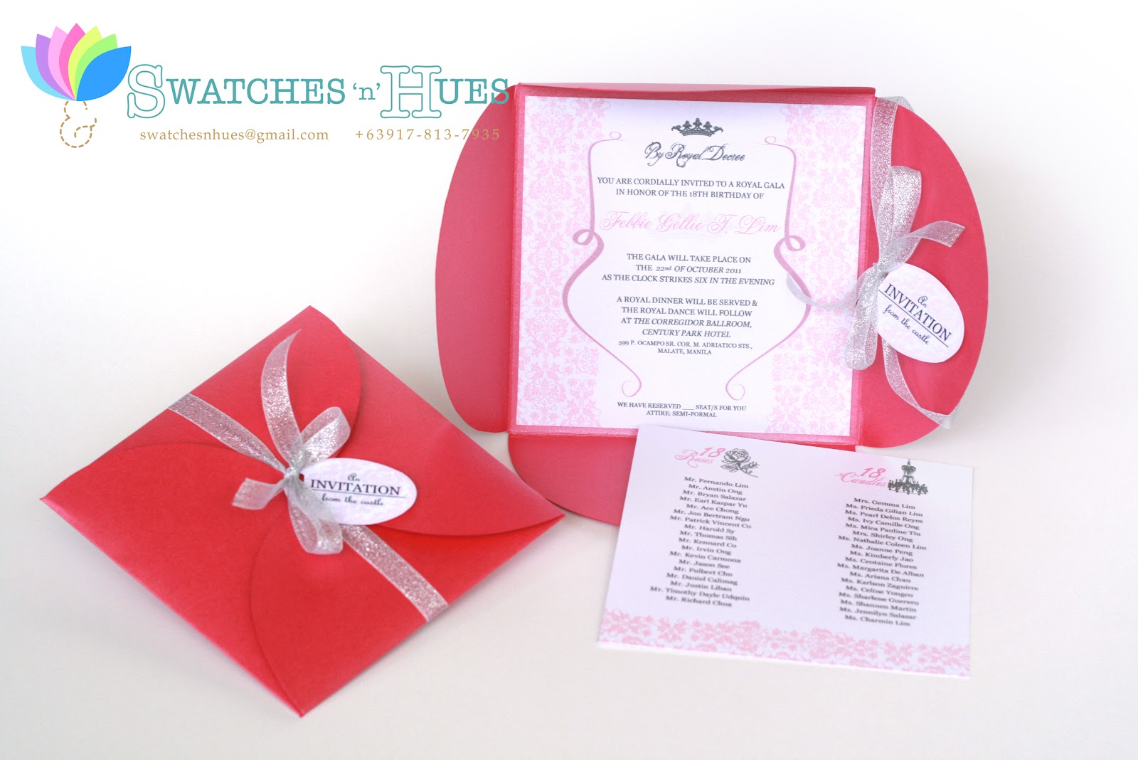 Swatches & Hues : Handmade with TLC: Princess themed petal fold ...