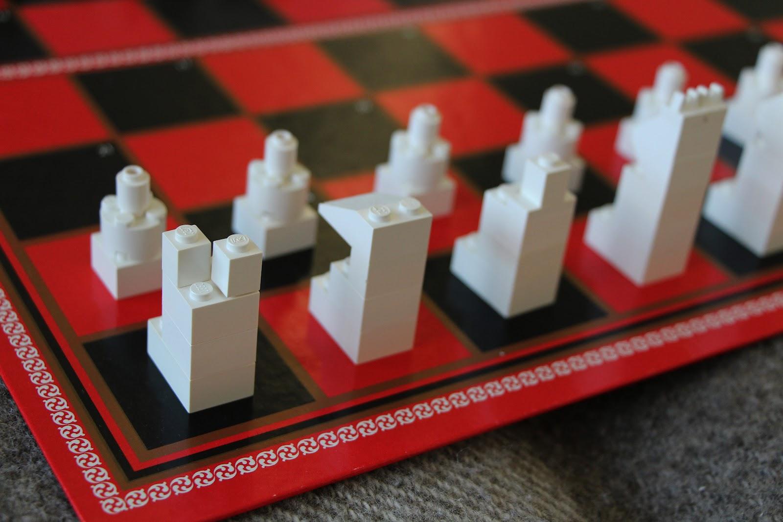 The Contemplative Creative Simple Lego Chess Set