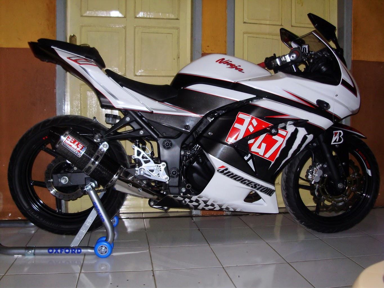 Foto Modifikasi Knalpot Ninja 250 R
