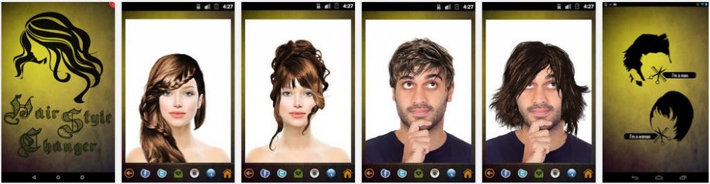 Aplikasi Pengubah Gaya Rambut Terbaik Di Android Onyuyu
