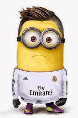 Minion de Cristiano Ronaldo Real Madrid