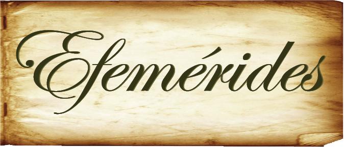 """Efemérides """"Archivo Gral. de la Prov de Entre Ríos"""""""