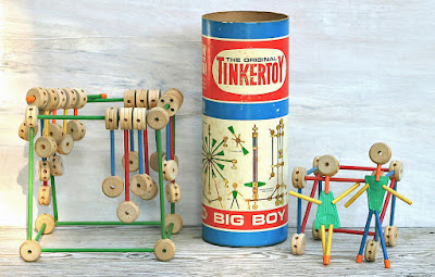 Tinker Toy... endless hours of building... STUFF!!!!  LoL