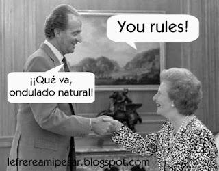 Margaret Thatcher, Sara Montiel