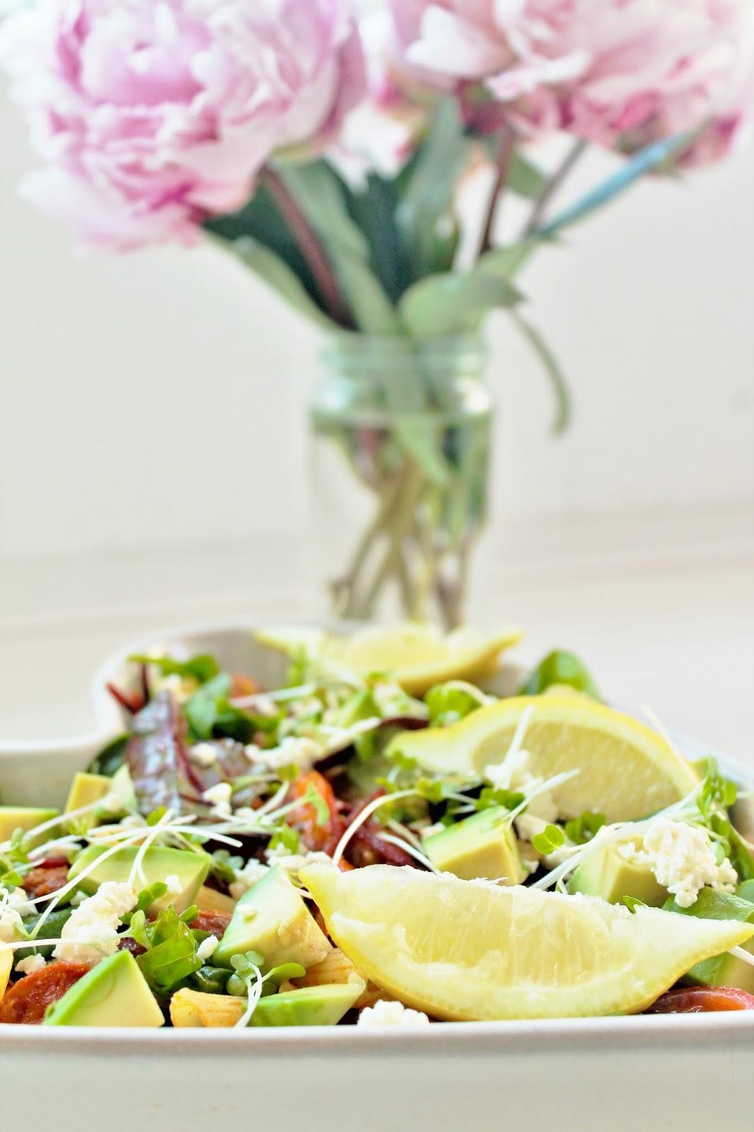Delicious & Gluten Free: Chorizo & Roasted Pepper Pasta Salad