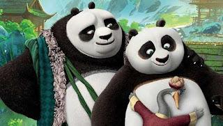 Kung Fu Panda 3 Po and Fathers