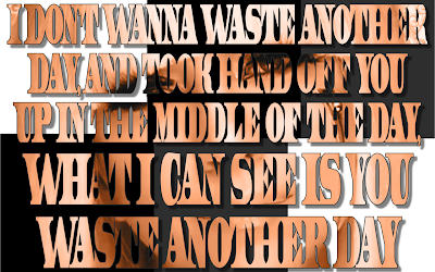 Greatest - Lady Gaga Song Lyric Quote in Text Image