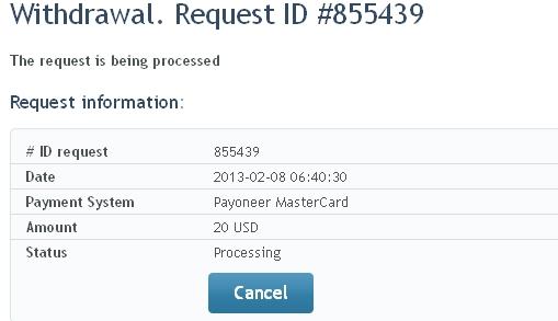 Forex withdrawal payoneer