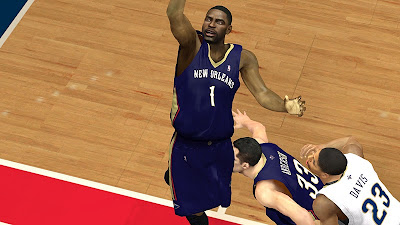 NBA 2K13 New Orleans Pelicans Official Jerseys Mod