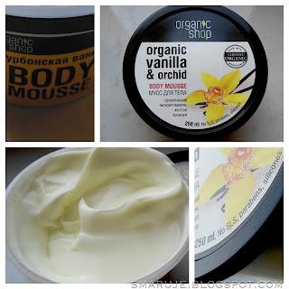 Organic Shop – Organic Vanilla & Orchid Body Mousse [recenzja]