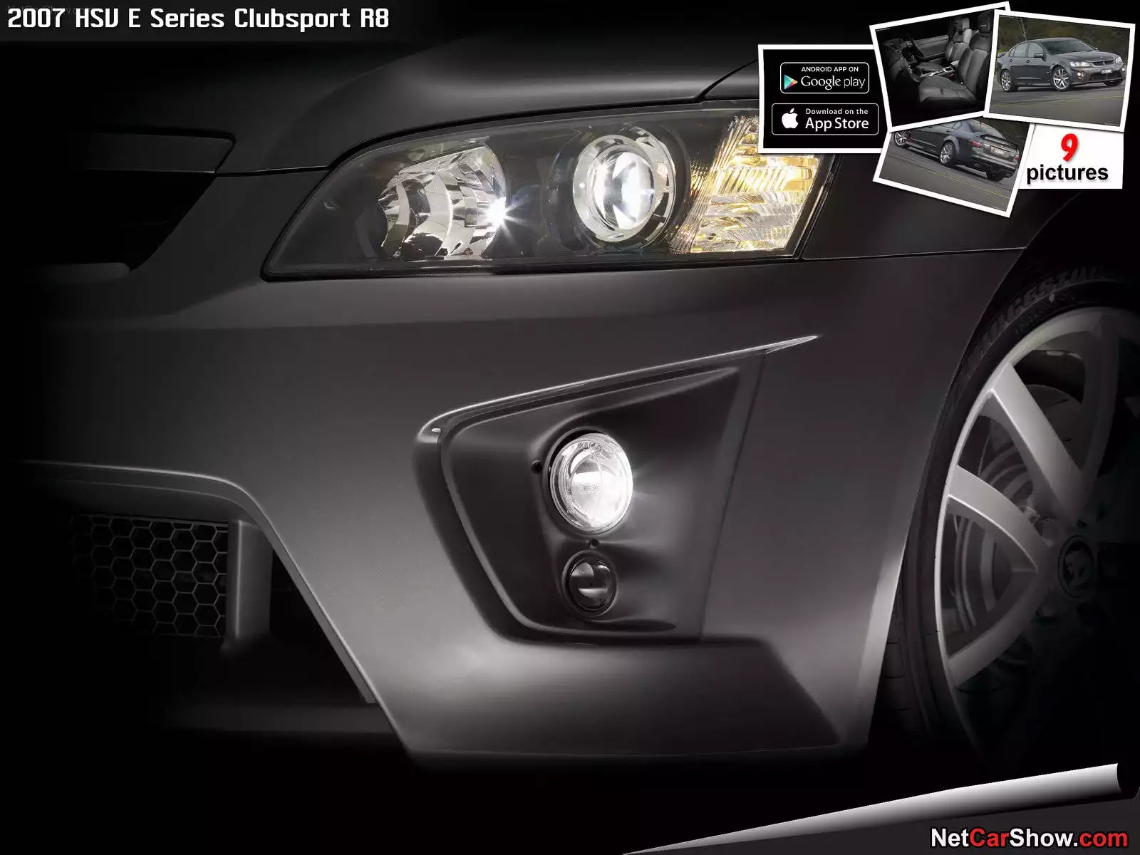 Hình ảnh xe ô tô HSV E Series Clubsport R8 2007 & nội ngoại thất