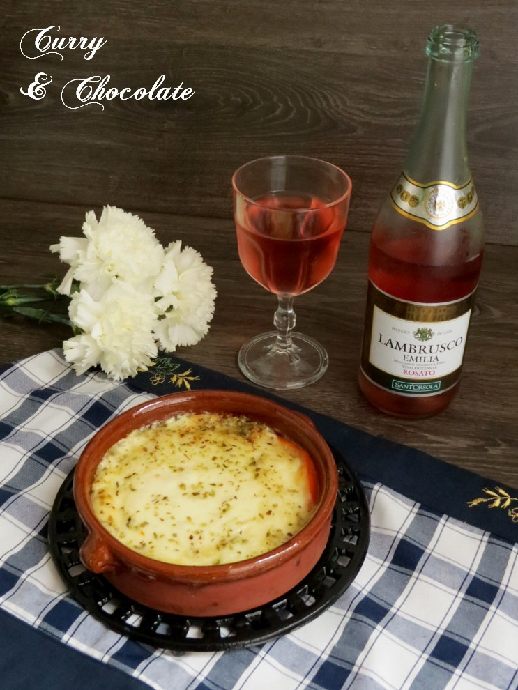 Cooking in English (o intentándolo): Baked provolone with ...