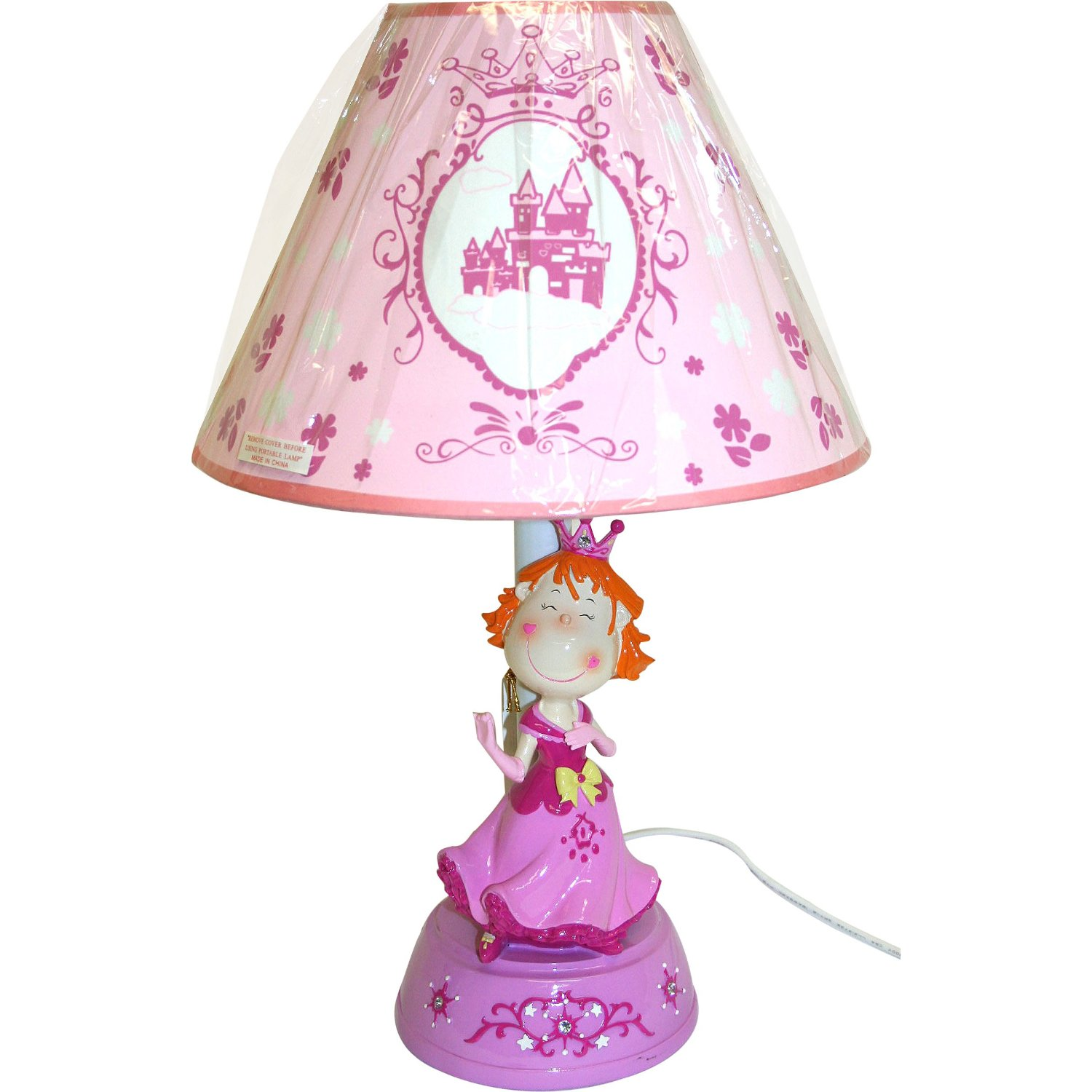 KMP Gifts Princess Lamp with Shade photo