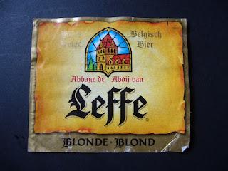 belgian beer leffe blonde