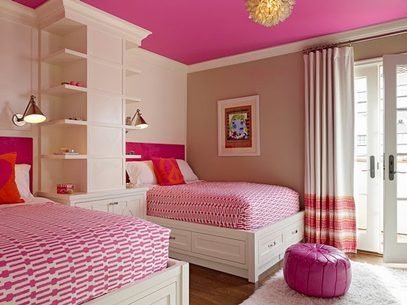 bedroom paint ideas girls wall
