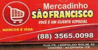 MERCADINHO SÃO FRANCISCO