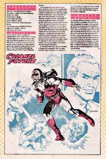 Coronel Futuro (ficha dc comics)