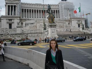Monumento Nacional conmemorado a Victor Manuel II, primer Rey de Italia ya unificada.