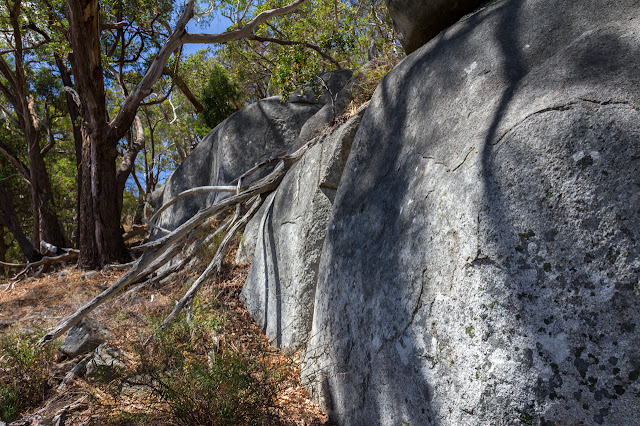 boulders scorpion rocks west ridge walking track 