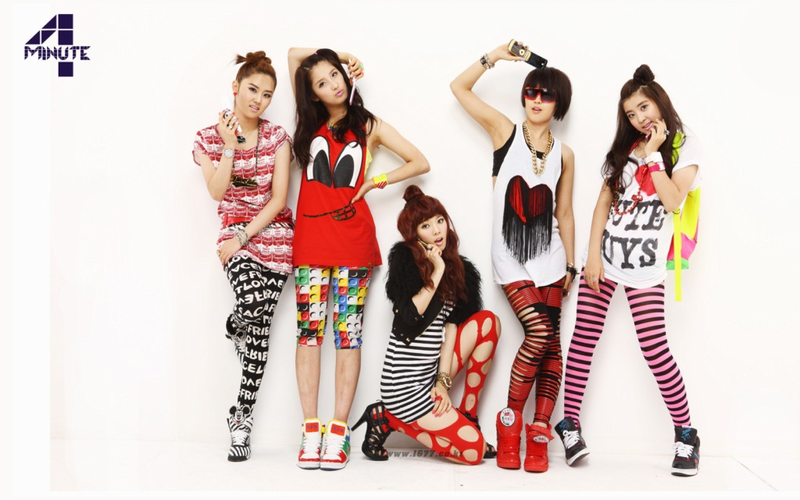 Poster 4Minute Sexy