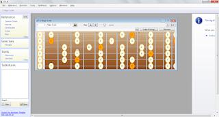 Guitar and Bass -  Software gratis untuk belajar Gitar dan Bass