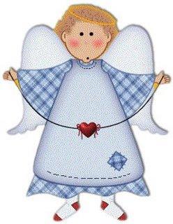 Imagens para decoupage de anjos e fadas