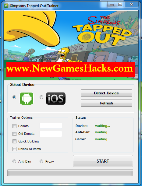 The Simpsons Tapped Out Hack Tool Download
