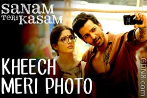Kheech Meri Photo Lyrics - Sanam Teri Kasam