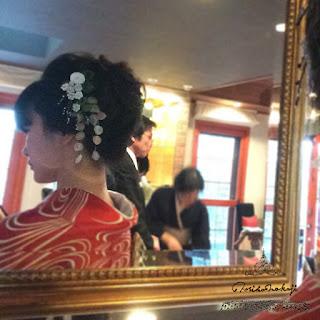 貼箱 髪飾り つまみ細工 振袖 成人式 ヘッドドレス 和装髪飾り norikonakaji