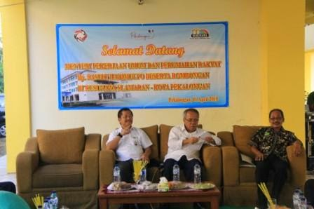 Menteri PUPR Janjikan Bangun Perkambungan Baru Untuk Nelayan