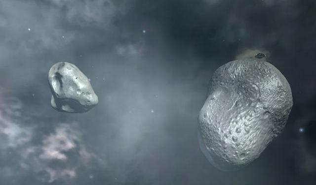 Battlestar Galactica Online - Planetoids