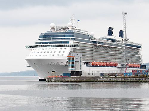 A Celebrity At Greenock Clydeside Imagescom - Cruise ships at greenock