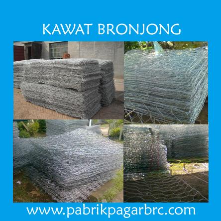 Jual Kawat Bronjong Murah Harga Pabrik Kualitas Terbaik. distributor pagar brc, murah harga pabrik. Hot Dip Galvanis dan Elektroplating
