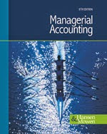 Managerial Accounting 8e by Hansen, Mowen