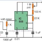 Make Interesting Flasher and Fader LED Circuits Using IC 555