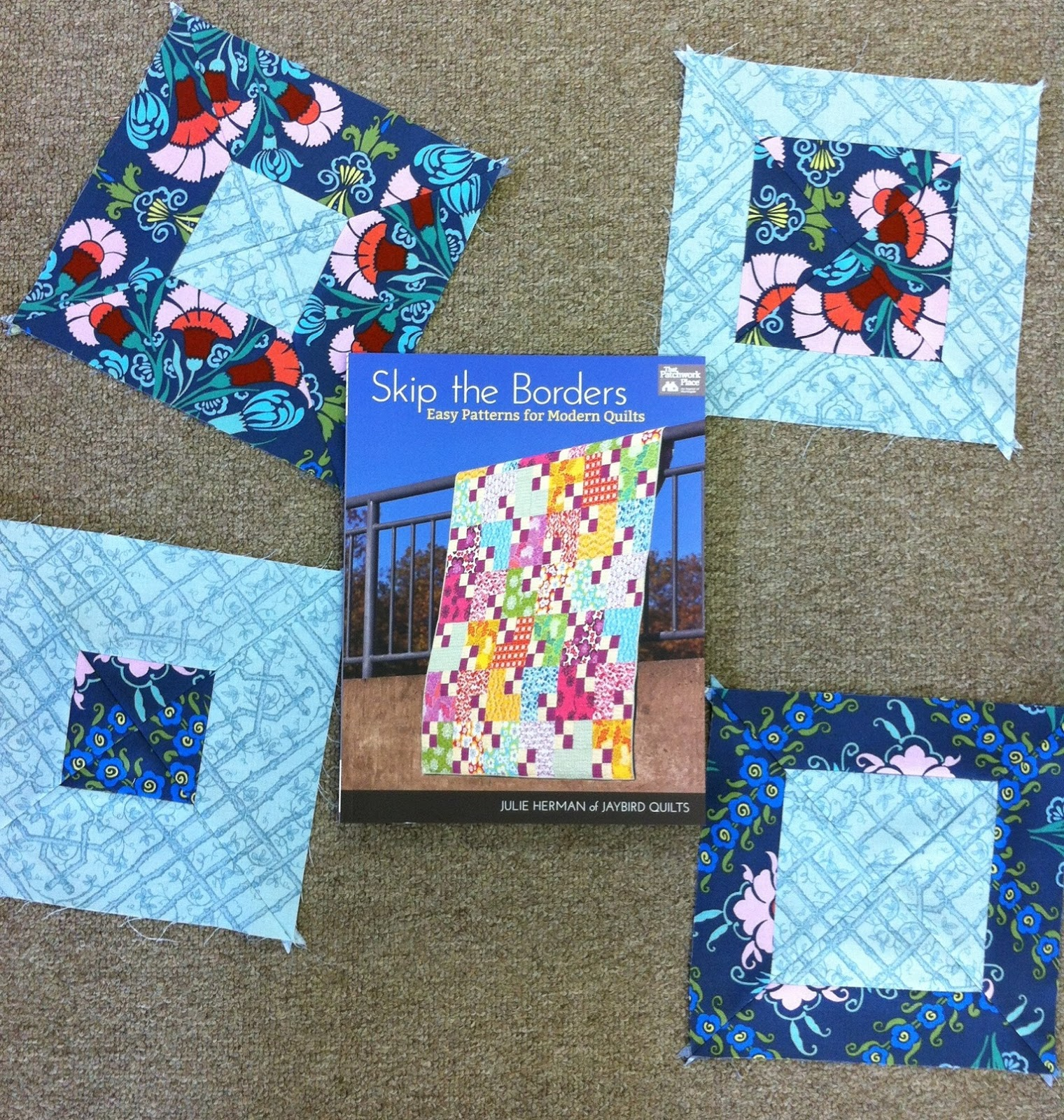 Little Quilts Blog: Squares, Strips and Rectangles...oh my... : skip the borders quilt book - Adamdwight.com