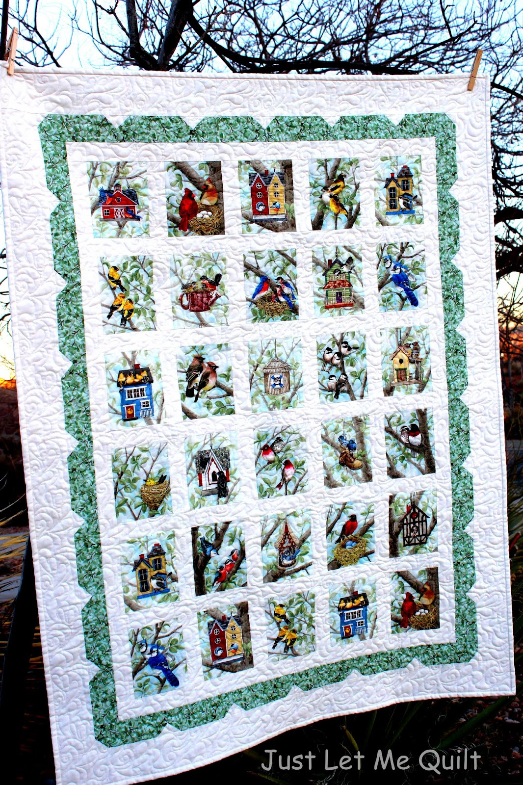 Bird Fabric Panel The Panels of Birds And