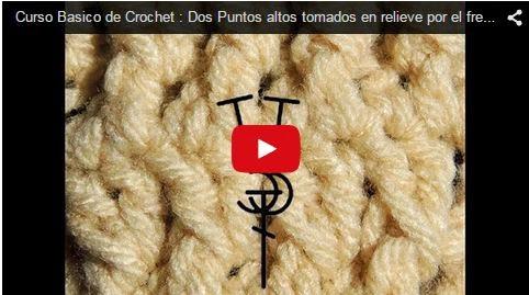 Videos de clases de crochet