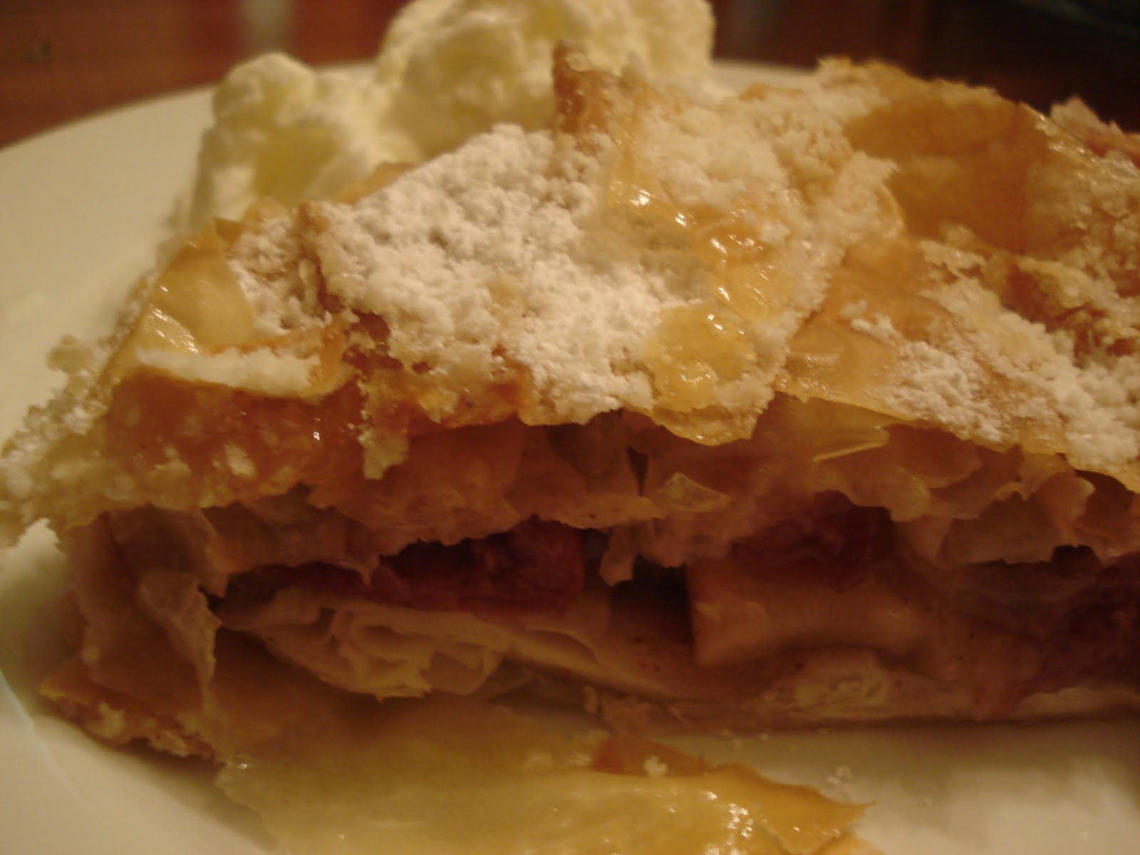 easy apple strudel recipe simple tasty good easy apple strudel easy ...