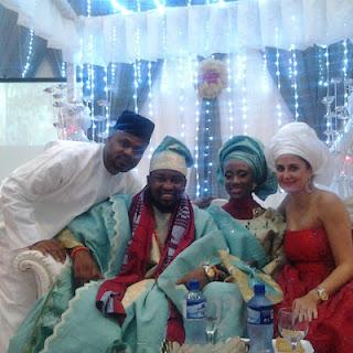 taiwo oyebanjo traditional wedding pictures