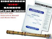 SIDEWINDER BAMBOO FLUTE KEY OF C