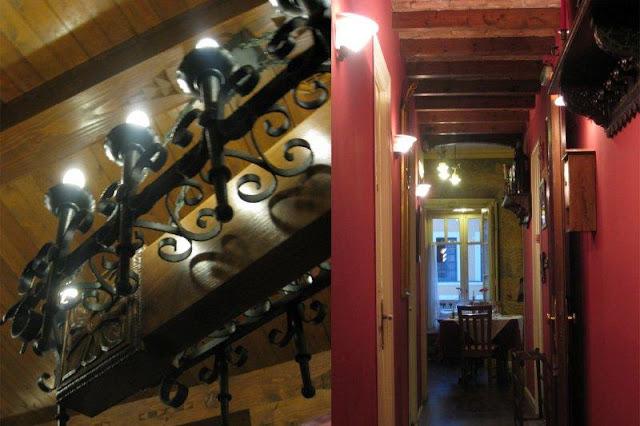 Comedor del Restaurante El Palacio en Gijon