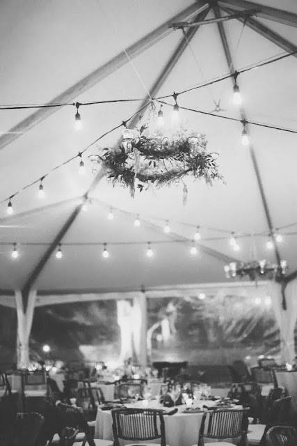 Vintage Wedding at Hermitage Isha Foss Events Floral Design White Green hanging chandelier flowers