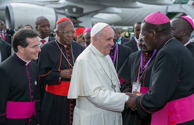 pope francis kenya visit one