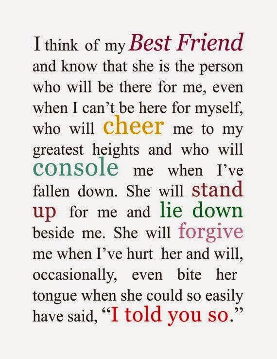 Emotional Birthday Quotes For Best Friend : Gallery for gt poems about friendship that will make you