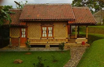 Desain Rumah Bambu Antik 03