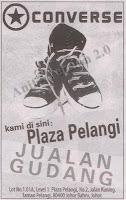 Jualan Gudang Converse 2012 - Plaza Pelangi