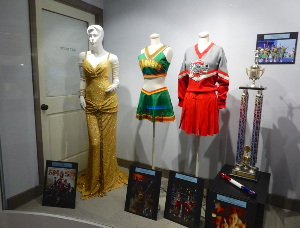 Universal Studios Hollywood costume prop exhibit