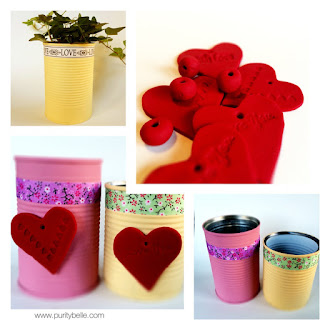 Valentine's Day Crafts Upcycled and Clay Makes